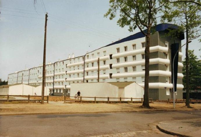 Habillage de façade 2