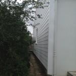 Bardage PVC avec bâtaies latérales en polyester