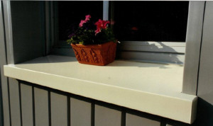 appui fenêtre composite